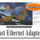 Lan Vision Fast Ethernet Adapter High Performance 10/100 - Brand New