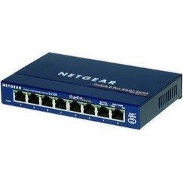 Netgear EN108TP 8 Port 10 Base-T Ethernet Hub - Brand New