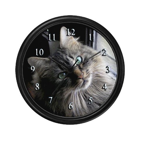 Cute Cat Clock