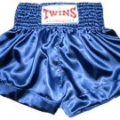 Twins Muay Thai boxing shorts blue new Medium TBS-124