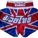 Twins Muay Thai boxing shorts Union Jack Large TBS-99
