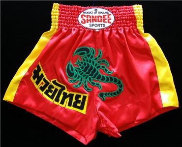 Sandee Muay Thai boxing shorts scorpion new XL SDS-2
