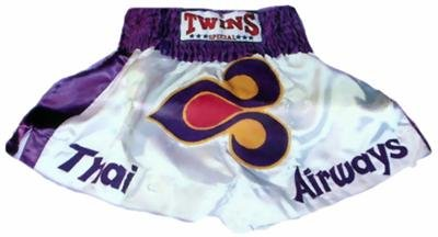 Twins Muay Thai boxing shorts Thai Airways logo Large