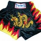 Twins Muay Thai boxing shorts dragon XXL new TBS-67