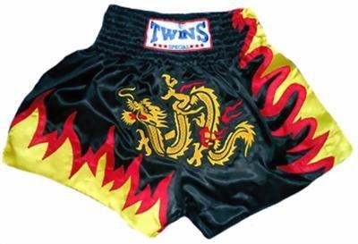Twins Muay Thai boxing shorts dragon XL new TBS-67