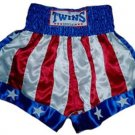 Twins Muay Thai boxing shorts American Flag Large