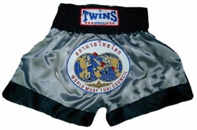 Twins Muay Thai boxing shorts Wld. Council XL TBS-90