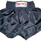 Twins Muay Thai boxing shorts gray new XXL TBS-75