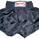 Twins Muay Thai boxing shorts gray new XL TBS-75