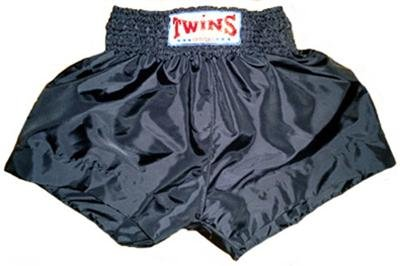 Twins Muay Thai boxing shorts gray new Large TBS-75