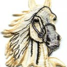 Horse colt bronco filly mustang pony stallion steed applique iron-on patch S-392