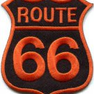 Route 66 retro muscle cars 60s americana USA applique iron-on patch S-280