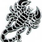 Scorpion tattoo Muay Thai applique iron-on patch S-235