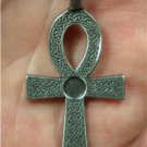 Egyptian Ankh key of life Isis pagan occult goth wicca pendant necklace new (B)