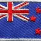 Flag of New Zealand kiwi maori blue ensign applique iron-on patch Medium S-384