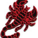 Scorpion tattoo Muay Thai applique iron-on patch S-233