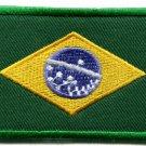 Brazilian flag Brazil Rio applique iron-on patch S-107