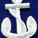 Anchor tattoo navy biker retro ship boat sea sew applique iron-on patch S-483