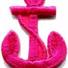 Anchor tattoo navy biker retro ship boat sea sew applique iron-on patch S-473