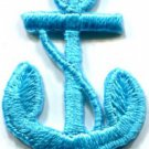 Anchor tattoo navy biker retro ship boat sea sew applique iron-on patch S-476