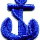 Anchor tattoo navy biker retro ship boat sea sew applique iron-on patch S-474