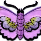 Butterfly insect boho hippie retro love peace applique iron-on patch S-455