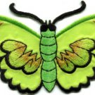 Butterfly insect boho hippie retro love peace applique iron-on patch S-456