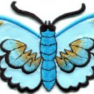 Butterfly insect boho hippie retro love peace applique iron-on patch S-459