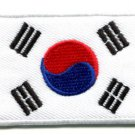 Flag of South Korea applique iron-on patch Medium S-105