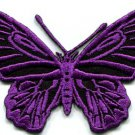 Butterfly insect boho hippie retro love peace applique iron-on patch S-175