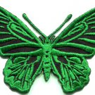 Butterfly insect boho hippie retro love peace applique iron-on patch S-173