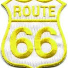 Route 66 retro muscle cars 60s americana USA applique iron-on patch S-277