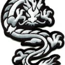 Chinese dragon kung fu martial arts tattoo applique iron-on patch Large S-396
