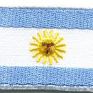 Flag of Argentina sun of may South America applique iron-on patch Medium S-387