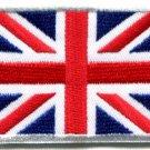 Union Jack British flag applique iron-on patch Medium S-102