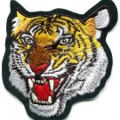 Tiger cat puma jaguar lion cheetah animal wildlife applique iron-on patch S-588