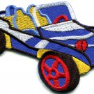 Dune buggy off road car baja retro racing applique iron-on patch S-526