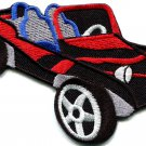 Dune buggy off road car baja retro racing applique iron-on patch S-527