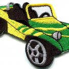 Dune buggy off road car baja retro racing applique iron-on patch S-525