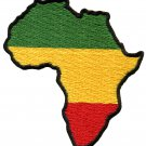 Africa flag of Judah flag rasta rastafarian reggae applique iron-on patch G-17