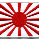 Japanese naval ensign flag Japan rising sun nippon applique iron-on patch G-43