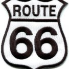 Route 66 retro muscle cars 60s americana USA applique iron-on patch new S-504