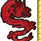 Chinese dragon HUGE XL kung fu martial arts tattoo applique iron-on patch S-362