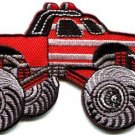 Monster truck 4 X 4 pickup auto applique iron-on patch new S-675 WORLDWIDE DELIVERY IS FREE!