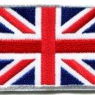 Union Jack British flag United Kingdom Great Britain applique iron-on patch S102