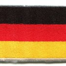 National flag of Germany German applique iron-on patch medium new S-96