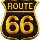 Route 66 retro muscle cars 60s americana USA applique iron-on patch new S-503