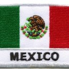 Flag of Mexico Mexican bandera embroidered applique iron-on patch new S-666