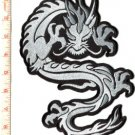 Chinese dragon HUGE XL kung fu martial arts tattoo applique iron-on patch S-396