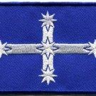 Southern Cross flag Eureka Australia applique iron-on patch new S-787